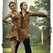 Rininda Mutia and Ari WIbowo peforming Jive