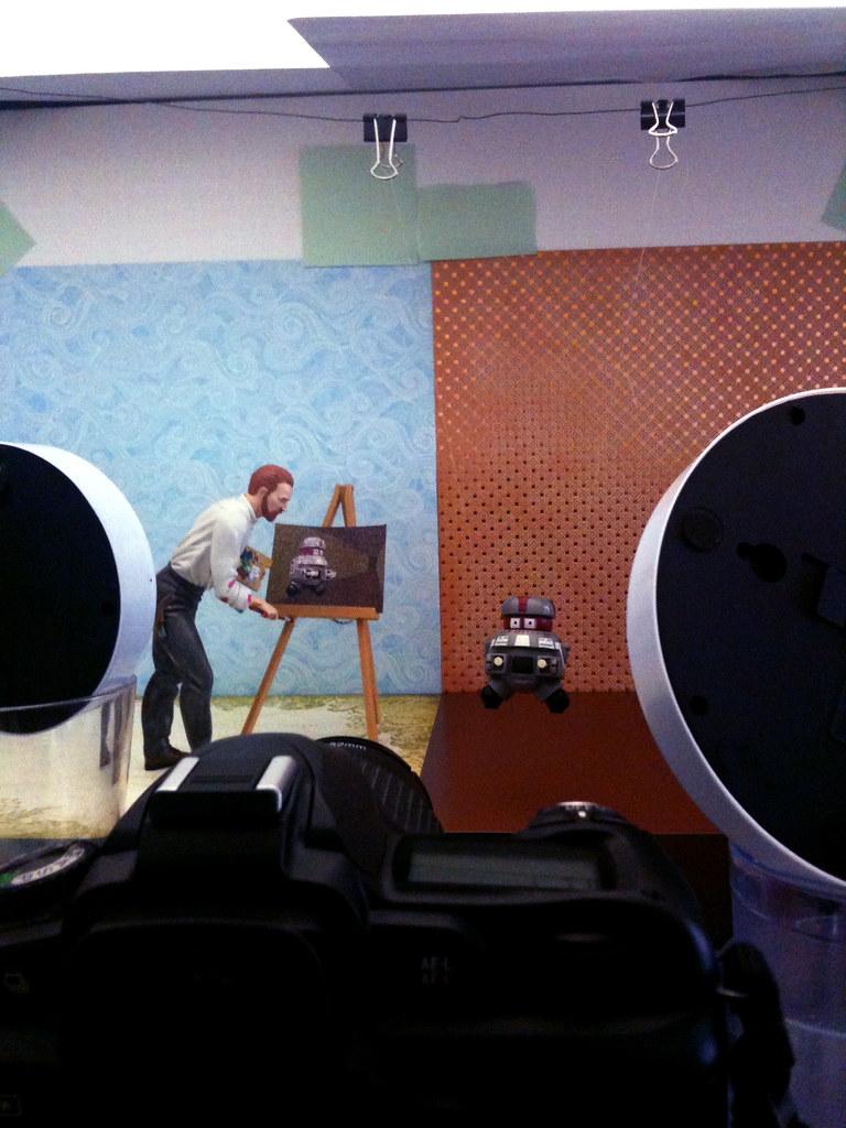 Vincent van Gogh vs. V.I.N.CENT Setup 2