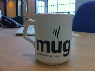 Edge Hill University College: mug