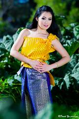 Thai costume photo shoot