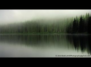 Early Morning - Cameron Lake.