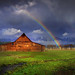 Grand Teton National Park - Moulton Barn by kevin mcneal