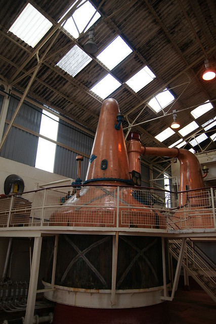 Ben Nevis Distillery - Stills