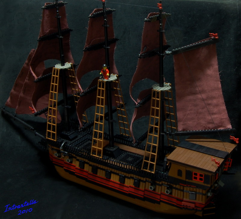 Death's Breath Pirate Ship