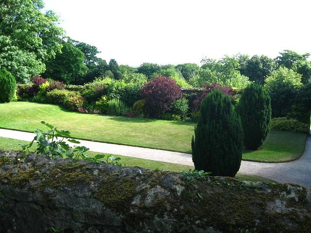 Trerice, gardens