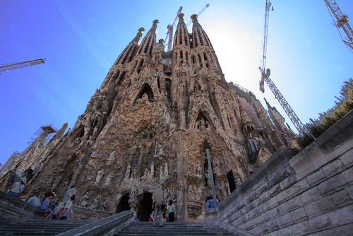 bezienswaardigheden-Spanje-top-10-Barcelona-Sagrada-familia