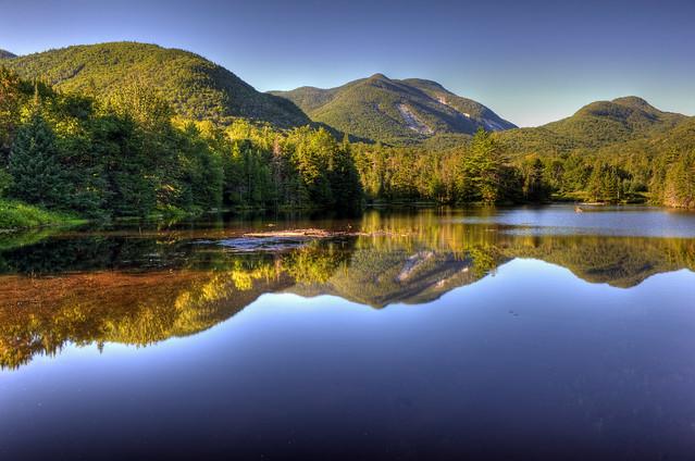 Marcy Dam Pond.