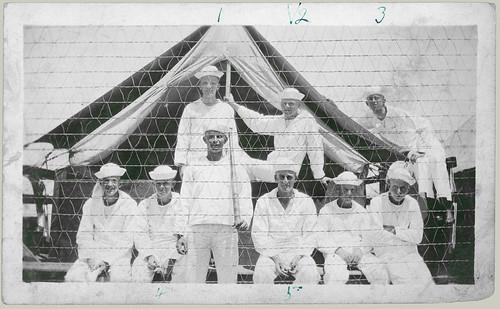 Nine sailors