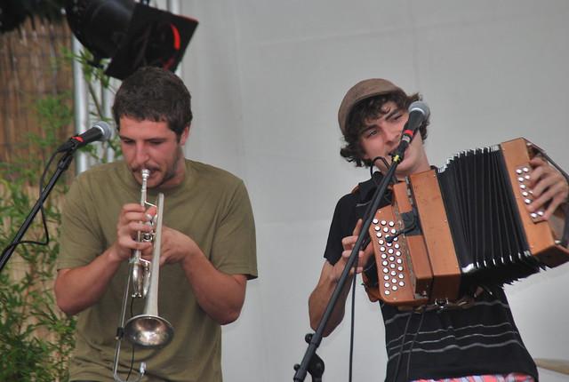 Le Band de Seilhac à Brive Plage Festiv'All 2010