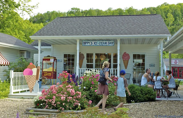 Dippys ice cream shop flickr photo sharing for Fish creek wi weather