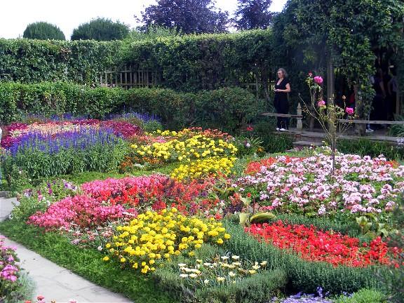 knot garden, Stratford