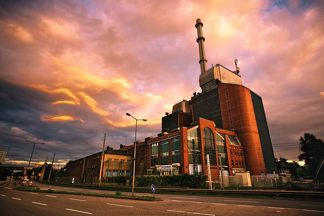 CHP power station Karlsruhe