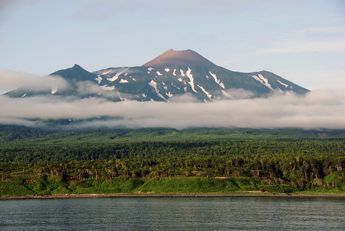 Tyatya double volcano - Kunashir Island - Kuril Islands - Far East Russia