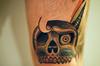 Finished Skull One week on,