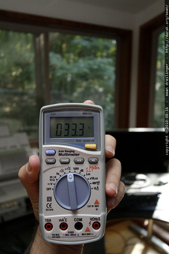 hot day in august   ° Celsius around our home with broken hvac