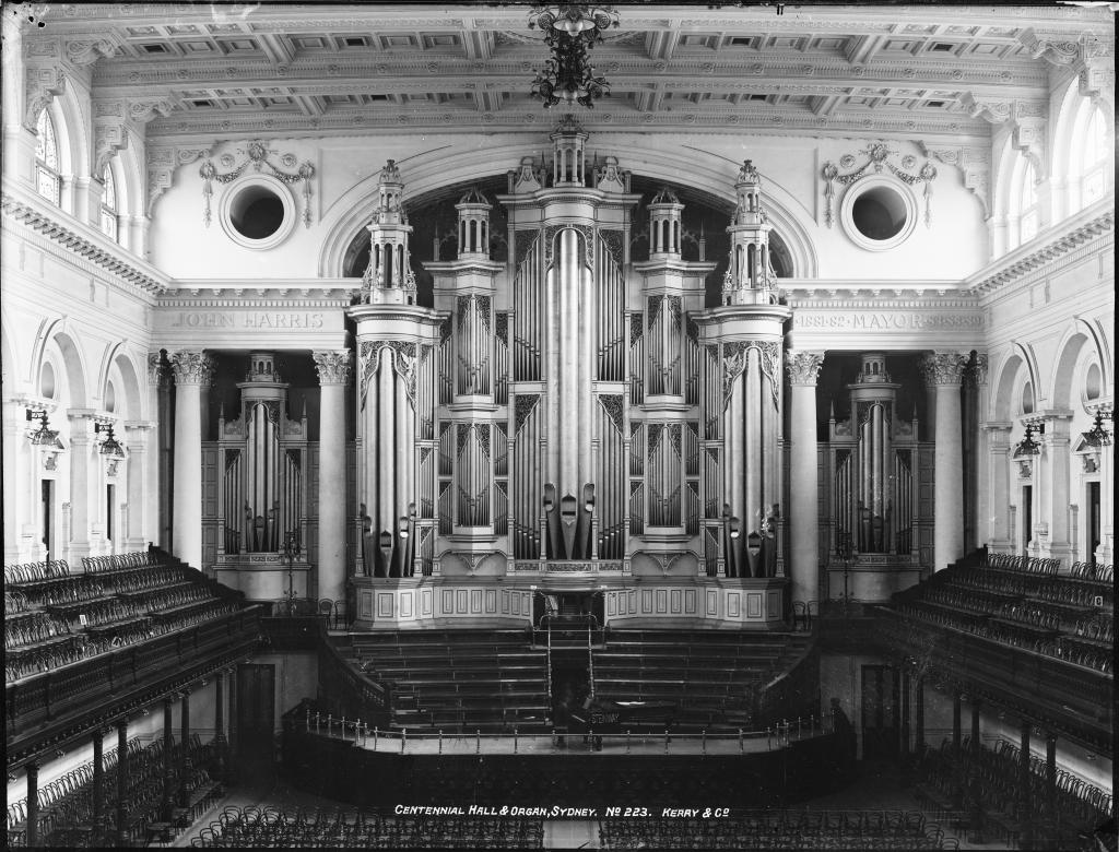 Centennial Hall and Organ
