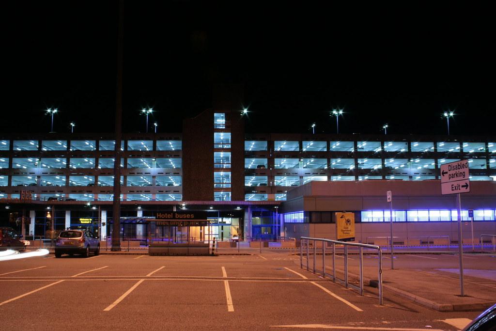Manchester Airport Multi Storey Car Park Terminal