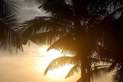 Sunset in Phuket Island, Thailand