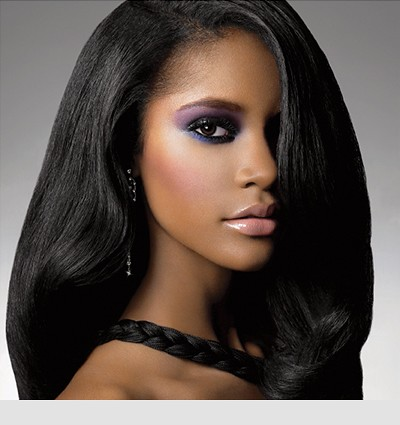 How To Make Relaxed Hair Look Naturally Straight