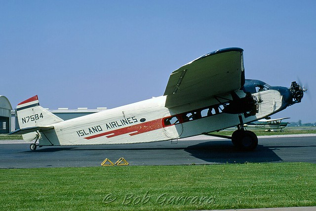 island airlines port clinton ford trimeter photographs