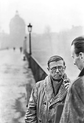 Jean-Paul Sartre, Paris 1946, by Henri Cartier Bresson