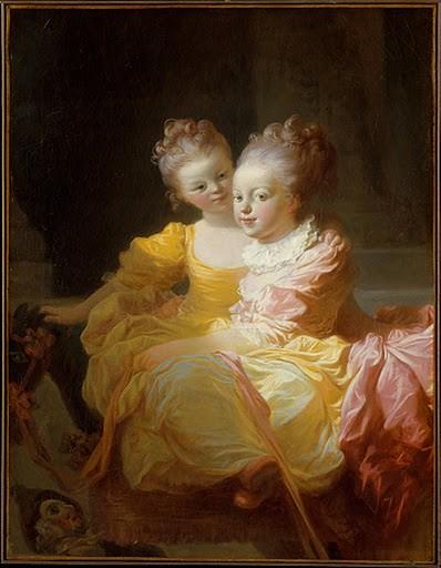 Fragonard, 2 Sisters