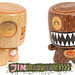 Custom Delights: Woodgrain customs by Jim Bradshaw by Warm 'n Fuzzy