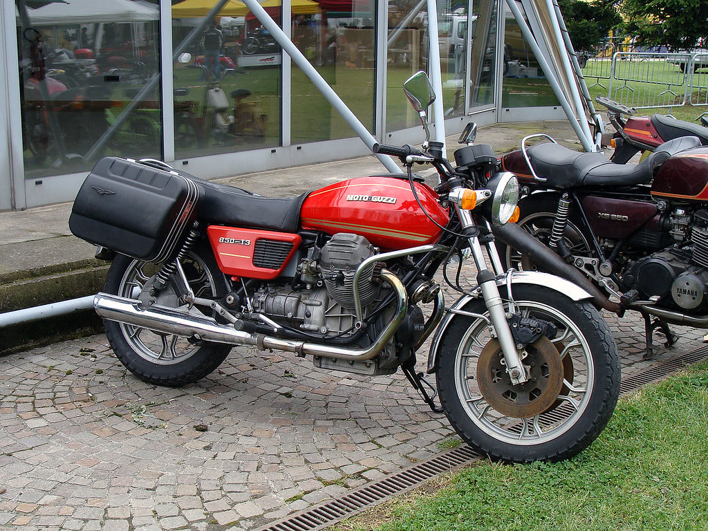 moto guzzi 850 t3 a photo on flickriver. Black Bedroom Furniture Sets. Home Design Ideas