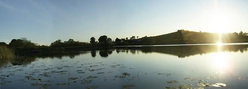 Panorama at Drumcah Lake part2