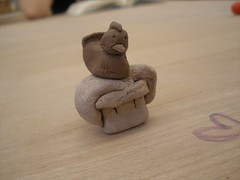 carving(0.0), ceramic(0.0), toy(0.0), art(1.0), clay(1.0), wood(1.0), sculpture(1.0), miniature(1.0),