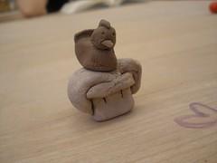 art, clay, wood, sculpture, miniature,