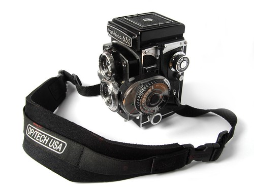 Yashica 635 + Optech strap + Sekonic Twinmate meter