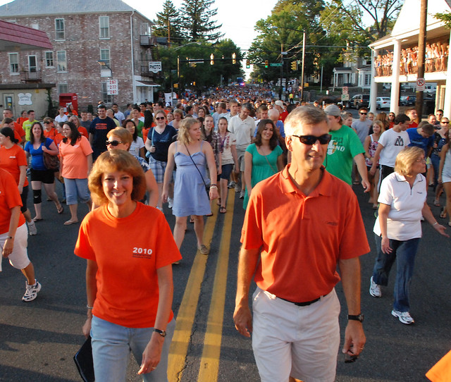 Gettysburg College First-year Walk 2010