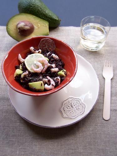 riso nero con avocado e gamberetti-3-