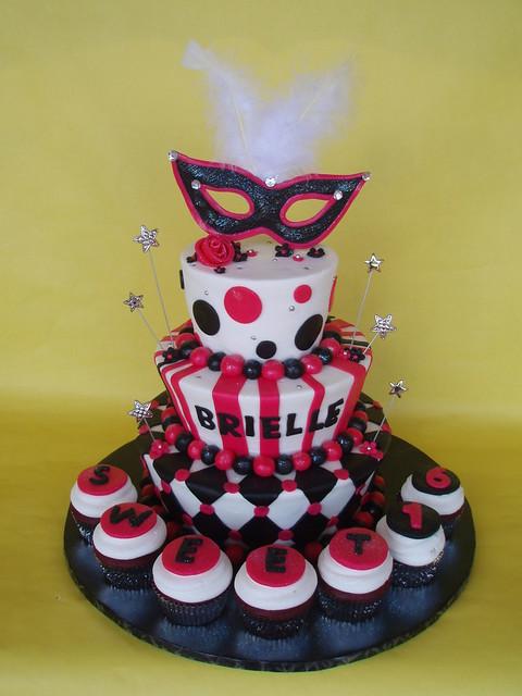 Birthday Cake Ideas For Sweet 16 Boy