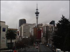 Wellesley Street & Auckland buidlings