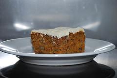 cake, carrot cake, baked goods, food, dish, dessert,