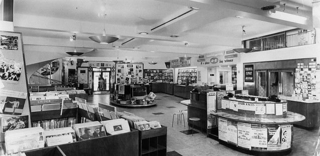 hmv 363 Oxford Street, London - Ground floor late 1950s