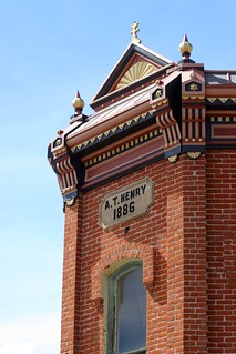 A T Henry Building, Salida, Colorado