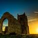 Sunset Burrow by Paul C Stokes