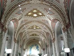 basilica, symmetry, arch, building, cathedral, synagogue, architecture, vault, byzantine architecture, arcade,
