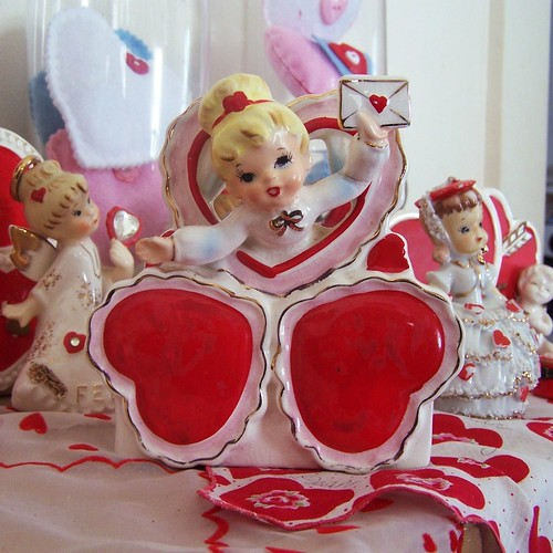 Vintage Relpo Valentine Planter by MissConduct*