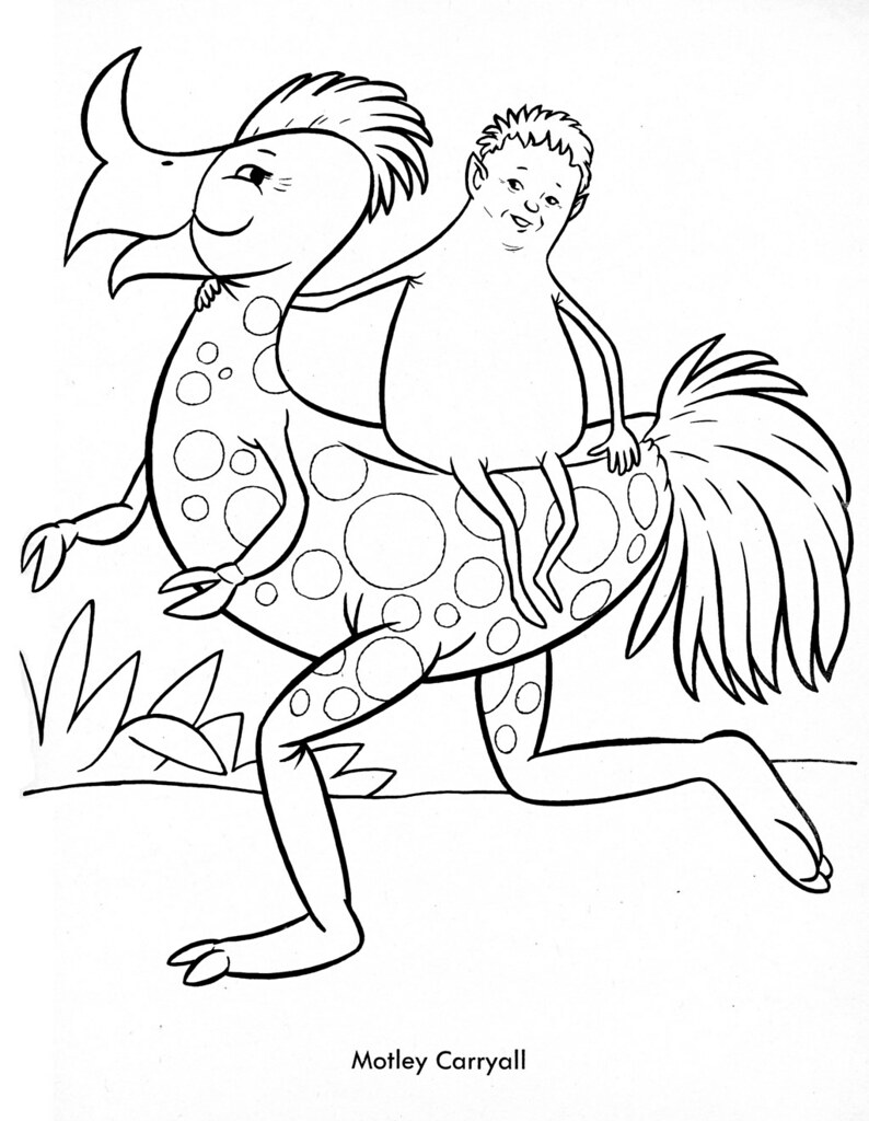 weird coloring pages - photo#3