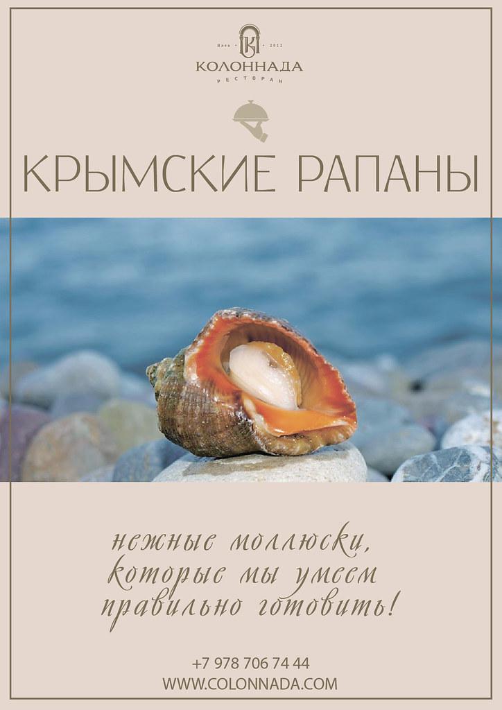 Рапаны в Крыму