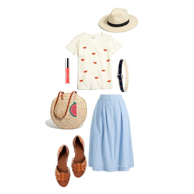 What I Wish I Wore, Vol. 191 - Wahoo for Watermelon | Style On Target blog