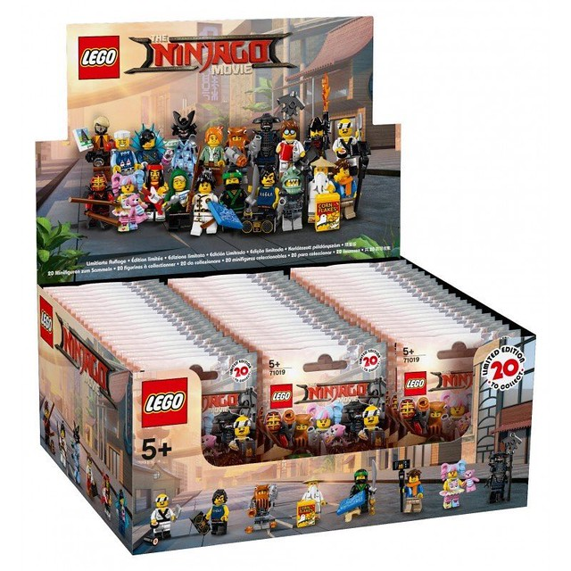 The LEGO Ninjago Movie 71019 Collectible Minifigures - opakowania 1