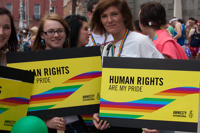 People are cheers-ing because #IrelandSaidYes