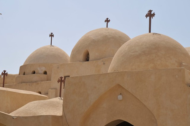 Monastères Bishoi Wadi Natrun