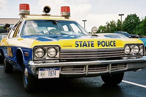 auto newyork vintage 1974 newjersey vintagecar police policecar dodge olympusxa ramsey statepolice fujisuperiaxtra400 policecruiser dodgemonaco
