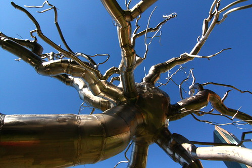 """Neuron"" by Roxy Paine"
